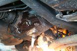 丁度、ガレージタカハシに、この前、洗車機のサビ止め・補修施工で使用した-どんぐりコロコロが残っていた。オーナー自ら、サビ止めコーティングするのであれば・・