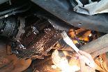 鋳物のサビ止めに、GM-1508=どんぐりコロコロを塗布。どうですか?どんぐりコロコロは、熱くなってきませんか?