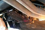鋳物のサビ止めに、GM-1508=どんぐりコロコロを塗布。マフラーの修理の間に、写真撮り