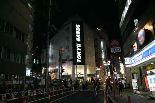東急ハンズ・渋谷店にて、ソーラーカー展示/岐阜県立可児工業高等学校(かに工業高校)2007年製作
