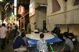 写真/東急ハンズ・渋谷店にて、ソーラーカー展示/岐阜県立可児工業高等学校(かに工業高校)2007年製作